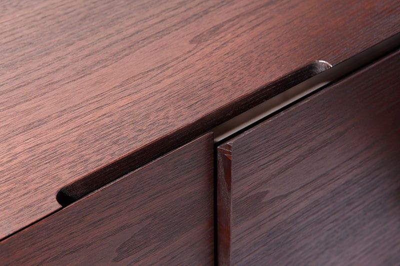 Arbeitszimmer, Detail Schublade